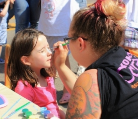 June 2017 face painting