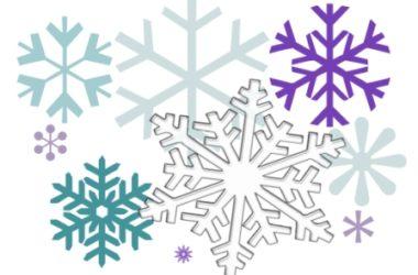 December 2017 Snowflakes